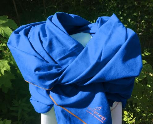 Stringenergy Harmony scarf blue
