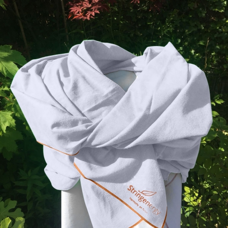 Stringenergy Harmony scarf white
