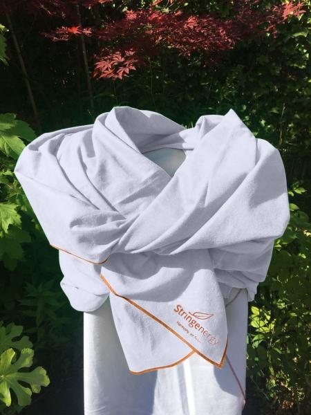 Stringenergy Harmony scarf white